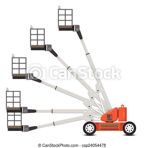 Boom lift - csp24054478