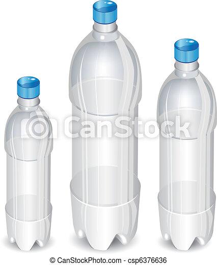 boompje, flessen, plastic - csp6376636