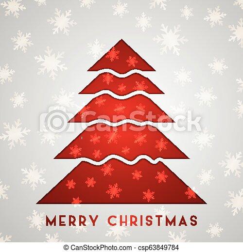 boompje, kerstmis, achtergrond - csp63849784