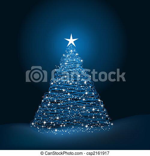 boompje, kerstmis - csp2161917