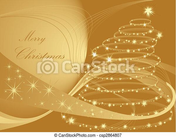 boompje, kerstmis - csp2864807