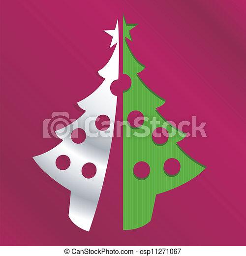 boompje, kerstmis - csp11271067