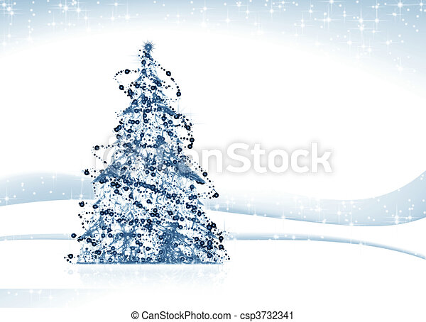 boompje, kerstmis - csp3732341