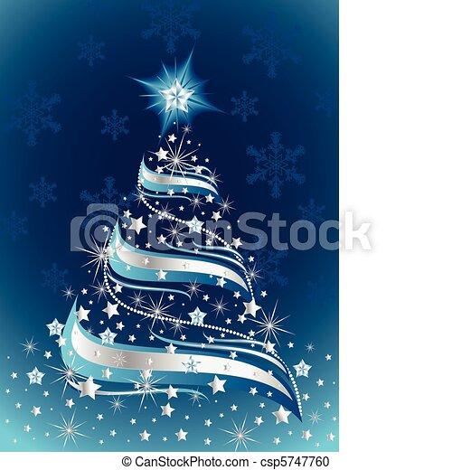 boompje, kerstmis - csp5747760