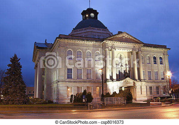Boone County historic courthouse - csp8016373