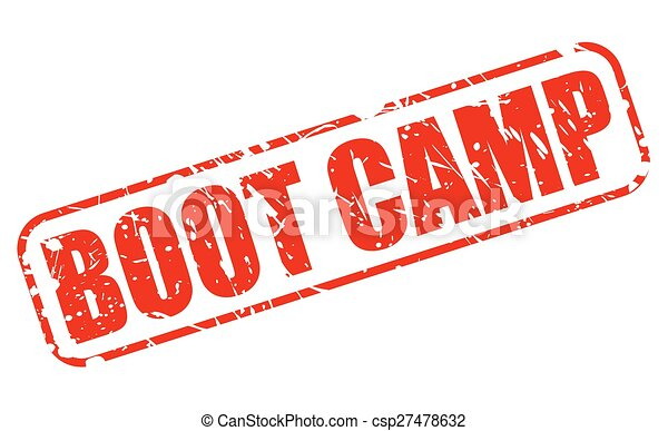 boot camp red stamp text on white vectors search clip art rh canstockphoto com fitness boot camp clipart army boot camp clip art