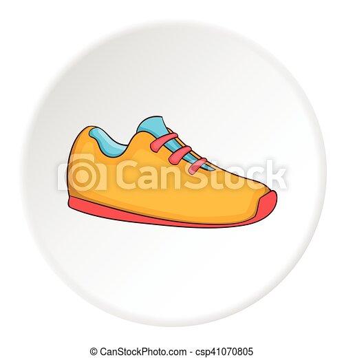 Boot icon, cartoon style - csp41070805