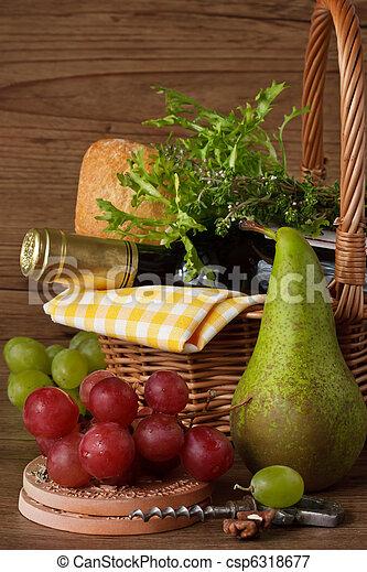 bor., szőlő, körte - csp6318677
