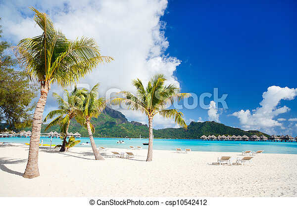 Bora Bora landscape - csp10542412