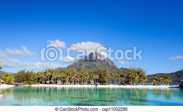 Bora Bora landscape - csp11002286