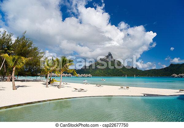 Bora Bora landscape - csp22677750