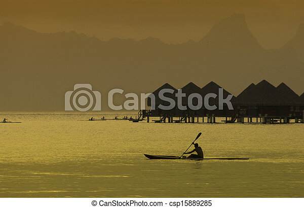 bora, -, polynesia francese, pacifico, sud - csp15889285