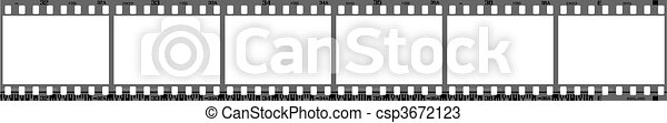 bordas, filmstrip, negativo - csp3672123