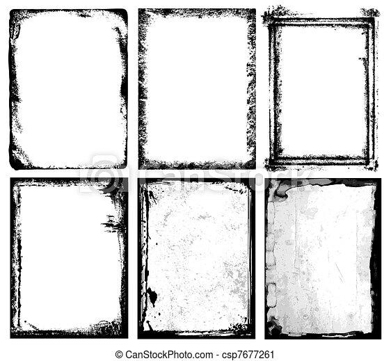 bordas, texturas, & - csp7677261