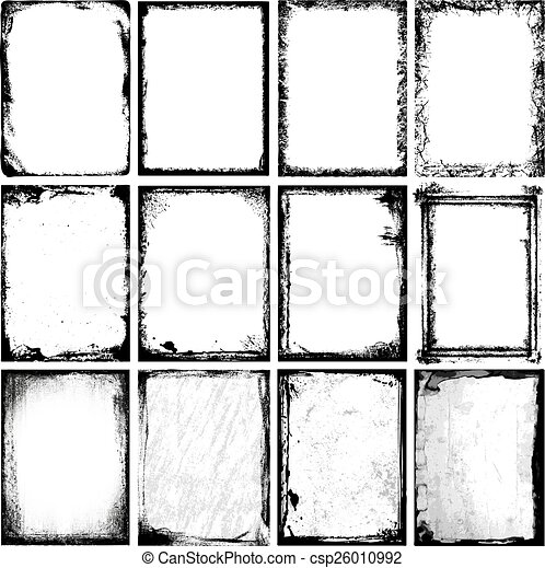 bordas, texturas - csp26010992
