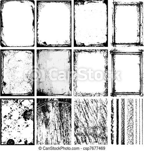 bordas, texturas, & - csp7677469
