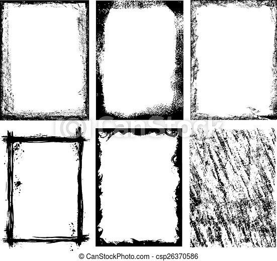 bordas, texturas - csp26370586