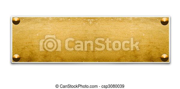 Border frame - csp3080039