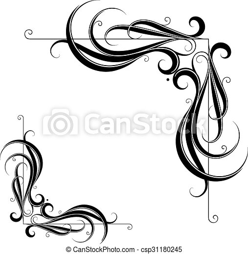 border frames design decorative frame border with floral eps rh canstockphoto com vector frames indesign cs6 vector frames and borders free download