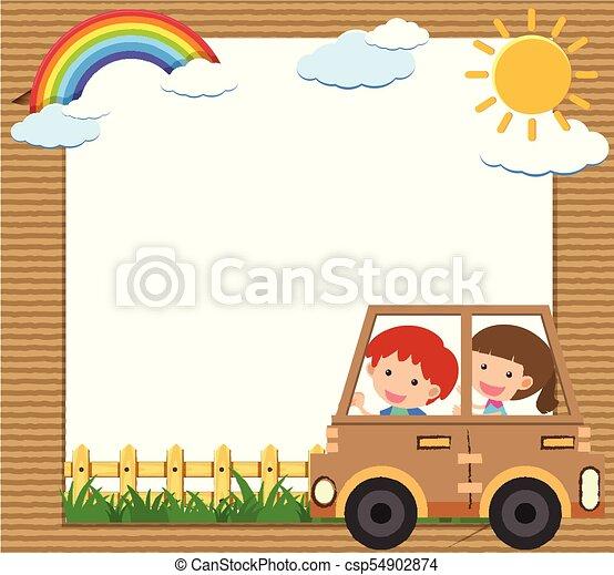 Bus Border Stock Illustrations – 1,077 Bus Border Stock Illustrations,  Vectors & Clipart - Dreamstime