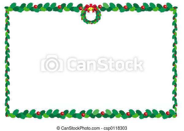 border2, kerstmis - csp0118303