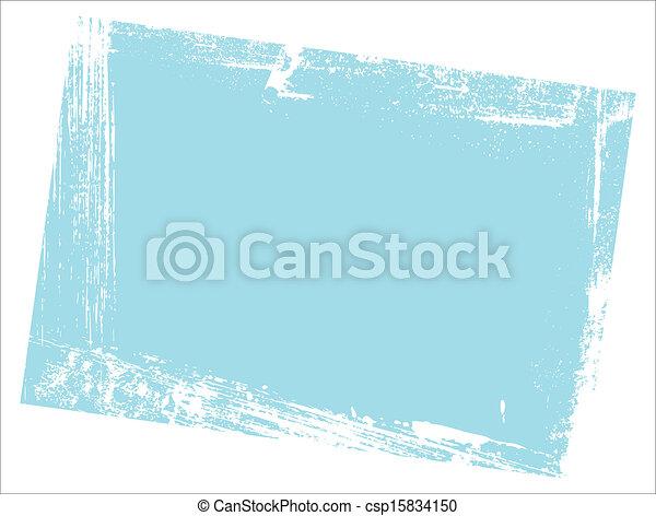 bords, sale, fond - csp15834150