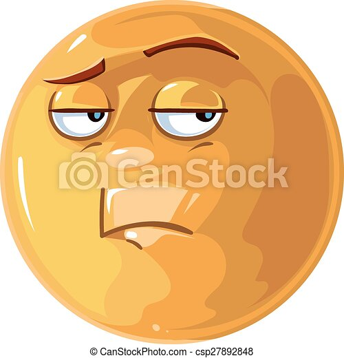 Bored emotion - csp27892848