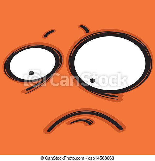 bored face - csp14568663