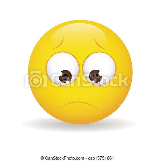 Bored Face - csp15751661