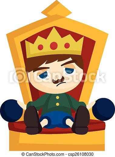 Bored King - csp26108030