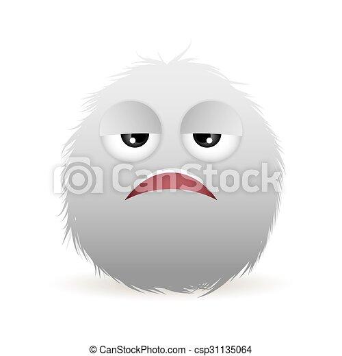 boring face - csp31135064