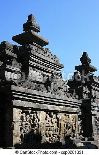 Borobudur, Indonesia - csp8201331