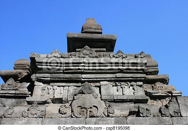 Borobudur, Indonesia - csp8195098
