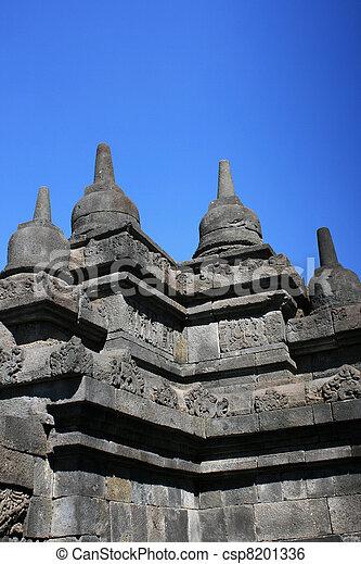 Borobudur, Indonesia - csp8201336