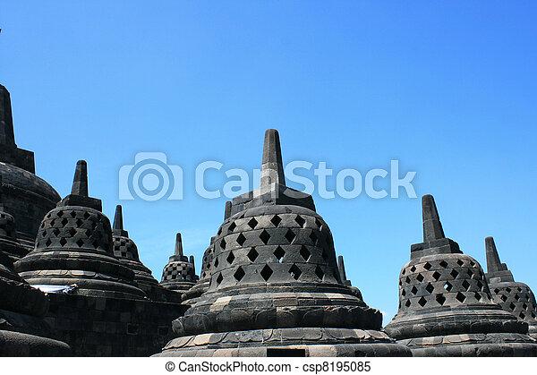 Borobudur, Indonesia - csp8195085