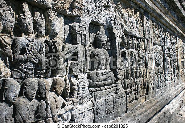 Borobudur, Indonesia - csp8201325