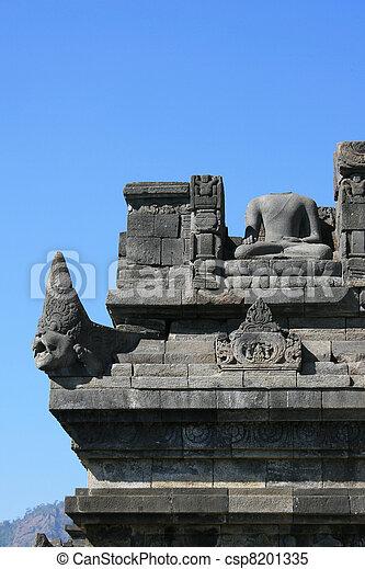 Borobudur, Indonesia - csp8201335