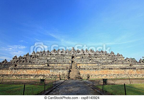 Borobudur Indonesia - csp8140924
