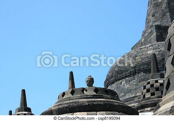 Borobudur, Indonesia - csp8195094