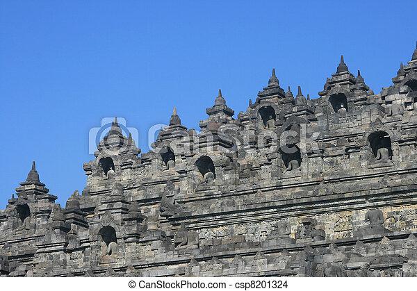 Borobudur, Indonesia - csp8201324