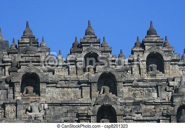 Borobudur, Indonesia - csp8201323
