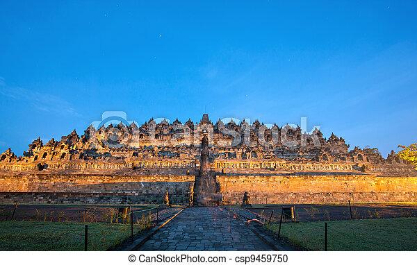 Borobudur Sunrise Indonesia - csp9459750