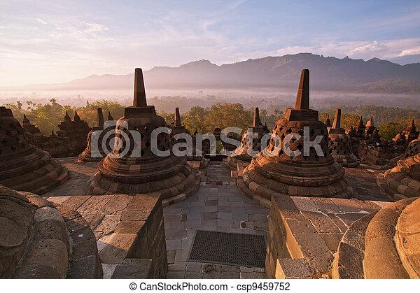 Borobudur Temple Indonesia - csp9459752