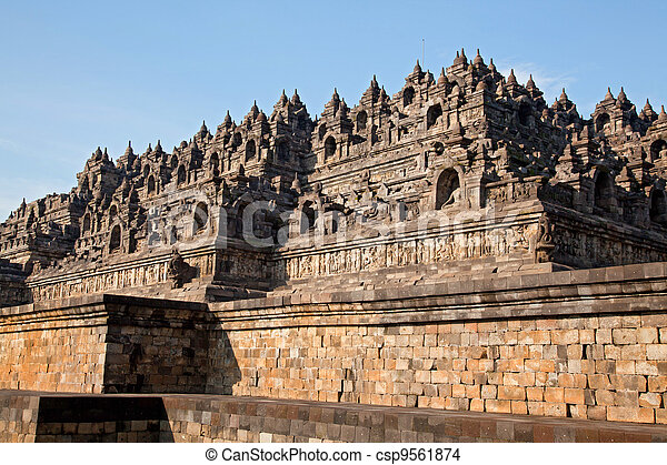 Borobudur Temple Indonesia - csp9561874