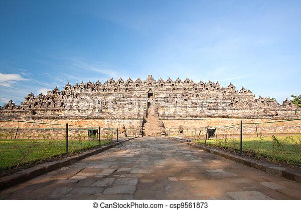 Borobudur Temple Indonesia - csp9561873