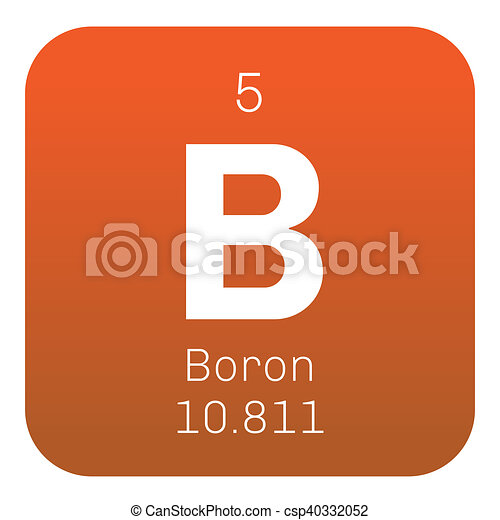 Boron Chemical Element A Low Abundance Element In The Solar System
