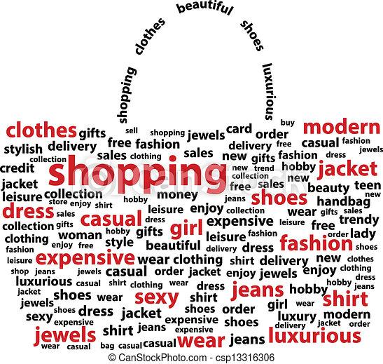 borsa, shopping - csp13316306
