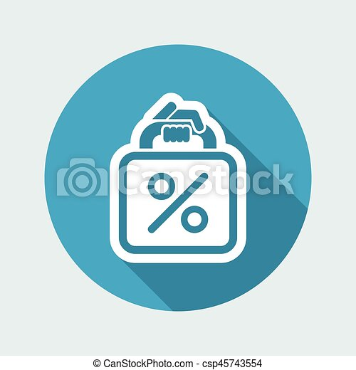 borsa, shopping - csp45743554