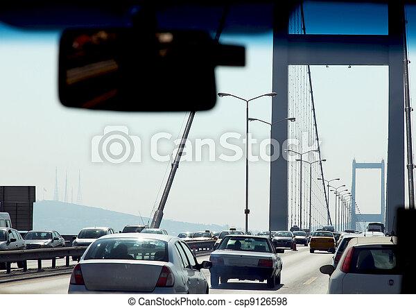 Bosphorus Bridge Istanbul - csp9126598