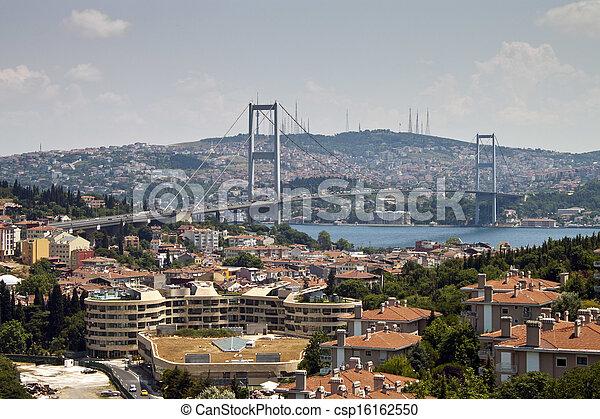 Bosphorus bridge - csp16162550